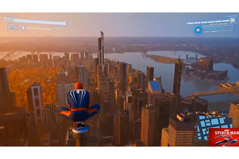 Spider- Man PS4 – Diving Off Empire State Building & New ...