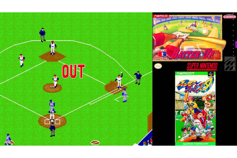 SNES A Day 98: Super Batter Up - YouTube