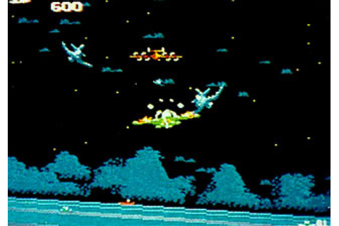 Sky Destroyer (1985) Arcade game
