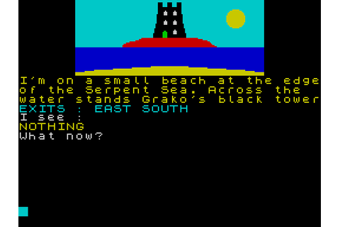 Kentilla (1984) by Micromega / Mastertronic ZX Spectrum game
