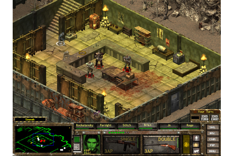 Super Adventures in Gaming: Fallout Tactics: Brotherhood ...