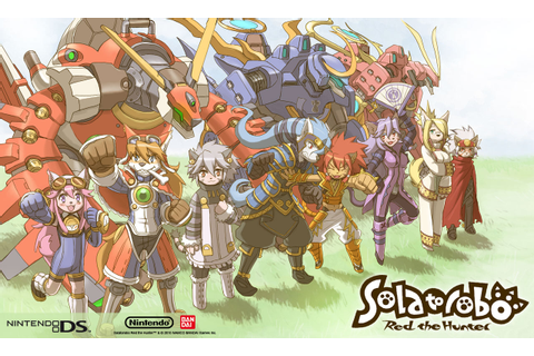 Kilted Moose's games blog: Solatorobo: Red The Hunter - DS