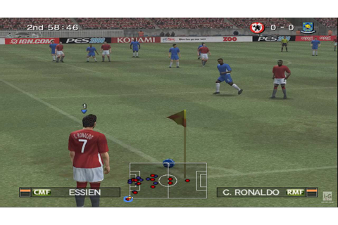 Pro Evolution Soccer 2008 PS2 Gameplay HD - YouTube