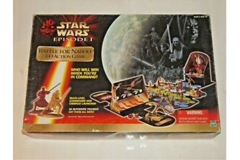 Star Wars Episode 1 Battle for Naboo 3D Action Board Game ...