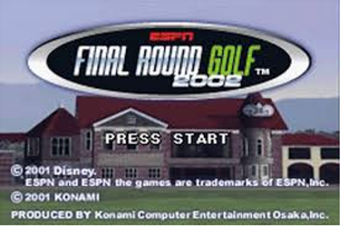 ESPN Final Round Golf 2002 | Gbafun is a website let you ...