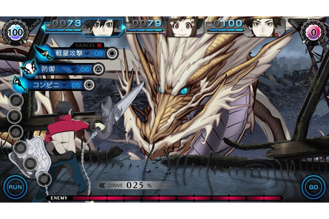 Vita RPG Ray Gigant Sends Teens to Fight World-Ending ...