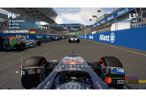 Codemasters F1 2014 Exclusive Gameplay - Red Bull Ring ...