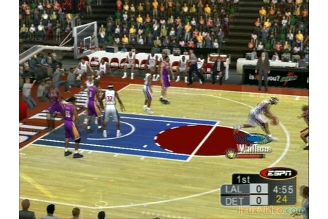 Gameplay ESPN NBA 2K5 : NBA All Star Game Two Thousands ...