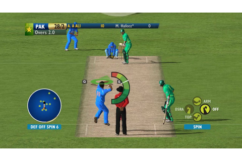 Ashes Cricket 2009 Patched 2017 Gameplay 60FPS India Vs ...