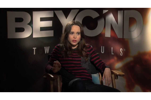 Ellen Page on her new video game 'Beyond Two Souls' and ...