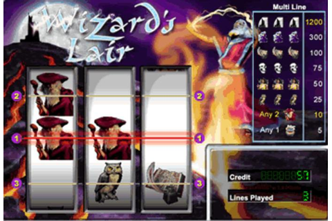 Wizards Lair Online Slots