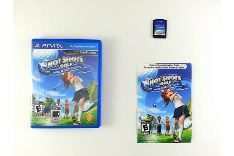 Hot Shots Golf World Invitational game for PlayStation ...