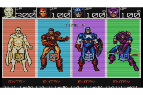 Let's Play Captain America and the Avengers (arcade ...