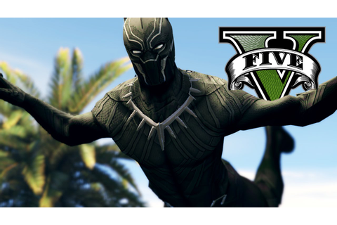 ULTIMATE BLACK PANTHER MOD | GTA 5 Funny Moments - YouTube