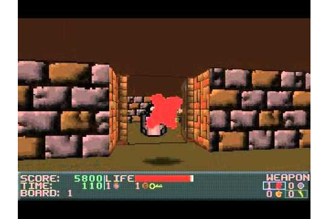 Half Assed DOS Games: Ken's Labyrinth - YouTube