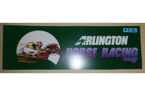 ARLINGTON HORSE RACING Arcade Machine Game FLEXIBLE ...