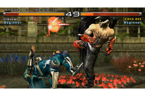 Tekken 5 1080p running on PCSX2 0.9.9 SVN - wide screen ...