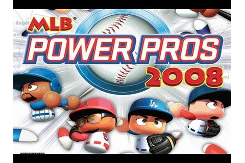 CGRundertow MLB POWER PROS 2008 for Nintendo Wii Video ...