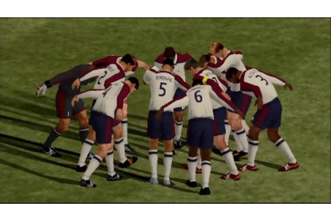 Football Kingdom - ENG v ITA (PS2) - YouTube