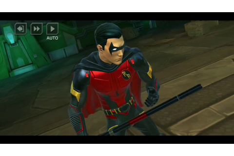 Dc Legends Red Robin (Tim Drake) game play - YouTube