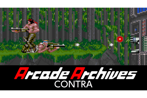 Arcade Archives CONTRA - YouTube