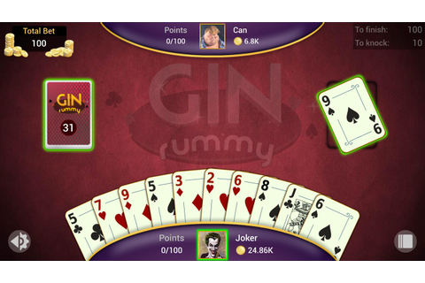Gin Rummy - Offline APK Download - Free Card GAME for ...