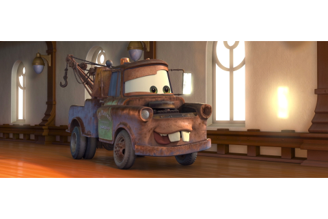 "Mater, character from ""Cars"". 
