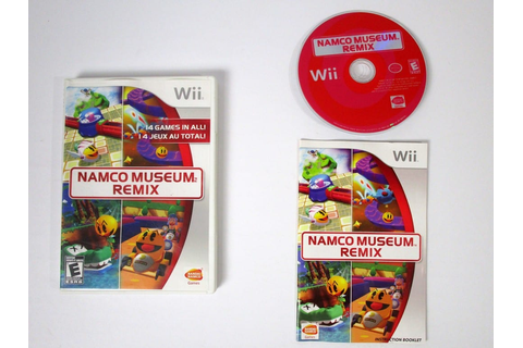 Namco Museum Remix game for Wii (Complete) | The Game Guy
