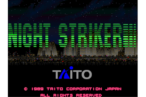 Play Night Striker Coin Op Arcade online | Play retro ...