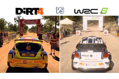 DiRT 4 vs WRC 6 - Gameplay Comparasion (HD) [1080p60FPS ...