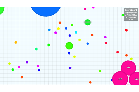 Strategy Guide: Beating Agar.io - extramaster