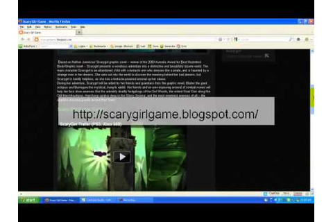 Scarygirl Game Full Download - YouTube