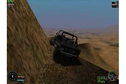 Driving a CJ on Screamer 4x4 Game - YouTube