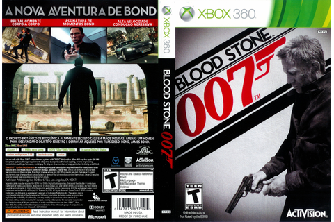 007 – Blood Stone | Capas e Covers Gratis.