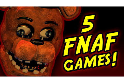 FNAF!? || 5 Five Nights At Freddy's Fan-Games - YouTube