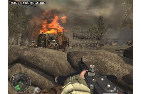 Call of Duty - World At War Final Fronts (USA) PS2 / Sony ...