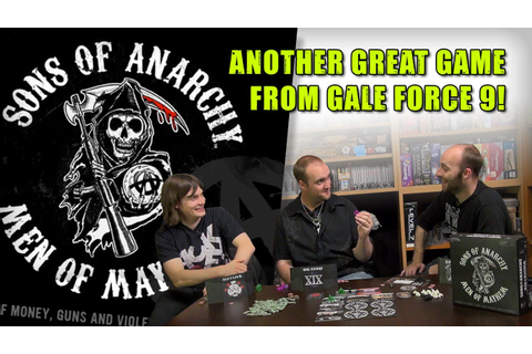 How To Play The Sons of Anarchy Board Game! - YouTube