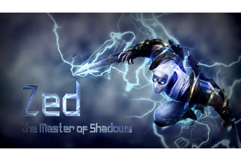 Zed, Video Games, Shadow, League Of Legends Wallpapers HD ...