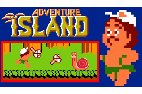 Adventure Island (NES) | Playthrough - YouTube