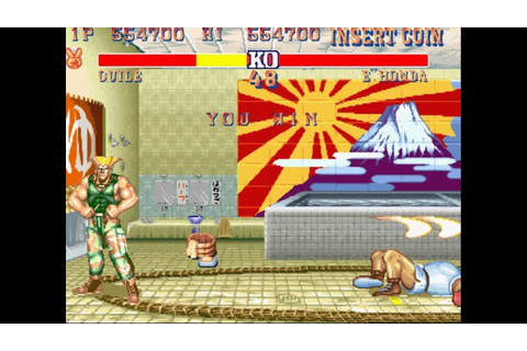 Street Fighter 2 Champion Edition (Rainbow) Guile ...