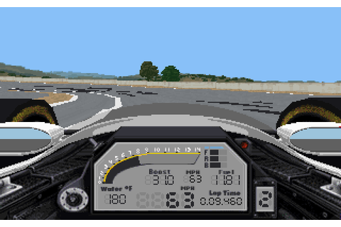 Play IndyCar Racing II online - PlayDOSGames.com
