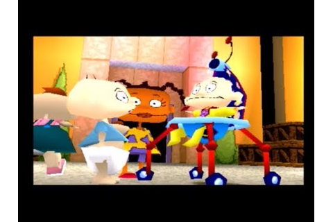Rugrats: Studio Tour PS1 Cutscenes - YouTube
