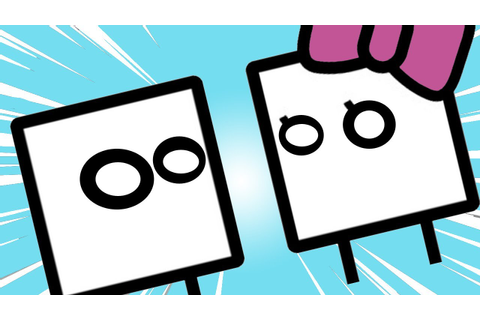 Playing BoxBoy + BoxGirl EARLY!!! (and poorly) - YouTube