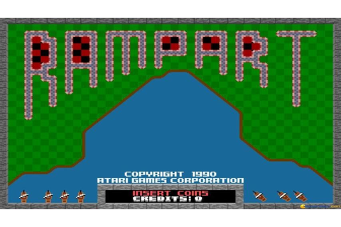 Rampart gameplay (PC Game, 1991) - YouTube