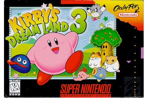 Kirby's Dream Land 3 | Kirby Wiki | Fandom powered by Wikia