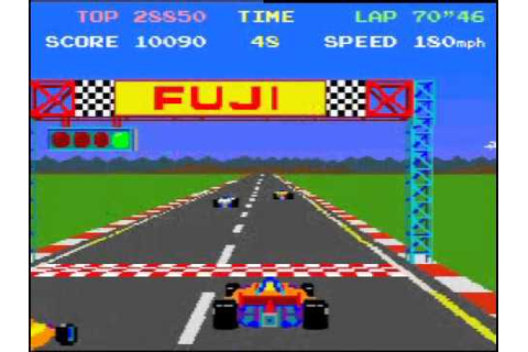 Pole Position Arcade Gameplay - YouTube