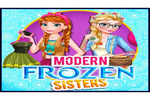 Frozen - Princess Elsa and Anna Modern Sisters - Disney ...