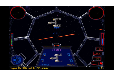 X-Wing and TIE Fighter now available on Steam | PC Gamer