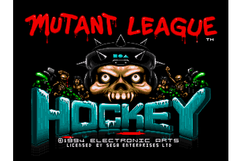 Mutant League Hockey Screenshots | GameFabrique