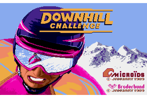 Downhill Challenge (1989) by Microïds Apple IIGS game